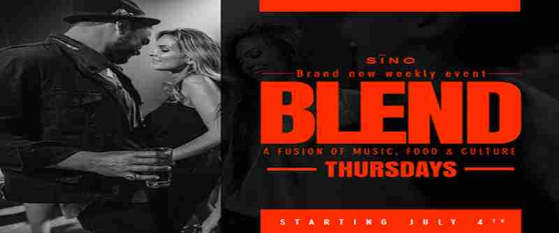 Sino at Santana Row - Blend Thursdays in San Jose on 11 Jul