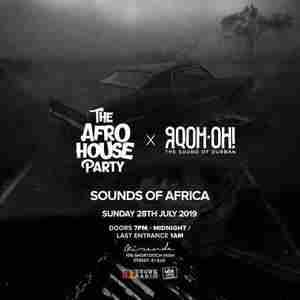 The Afro House Party x GQOM-OH Records in London on 28 Jul