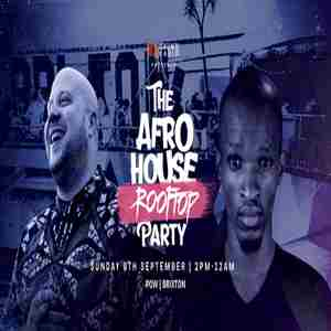 The Afro House Rooftop Party w/ Boddhi Satva & Enoo Napa in London on 8 Sep