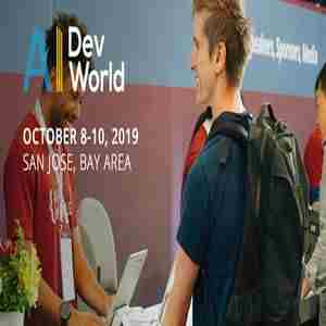 AI DevWorld 2019 -- Conference And Expo (San Jose, CA, Oct 8-10, 2019) in San Jose on 8 Oct