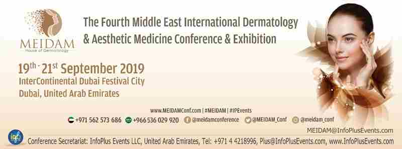 4th Middle East International Dermatology & Aesthetic Medicine Conference & Exhibition in Dubai on 19 Sep