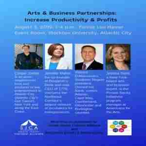 Arts and Business Partnerships: Increase Productivity and Profits Atlantic City in Atlantic City on Saturday, August 3, 2019