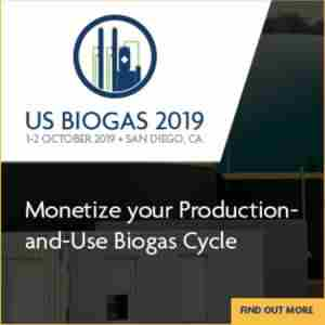 US Biogas 2019 - San Diego, October 1-2 in San Diego on 1 Oct