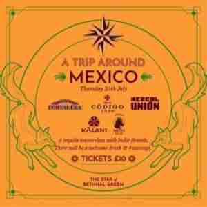 A Trip Around Mexico - Tequila Masterclass in London on 25 Jul