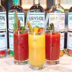 Build Yr Own Bloody Mary Bar- Hanson of Sonoma Organic Distillery Aug 17-18 in Sonoma on 17 Aug