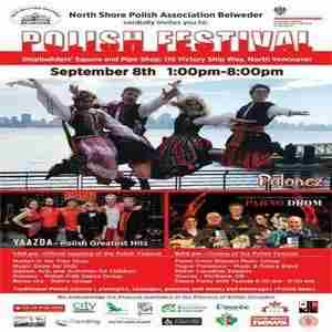 Polish Cultural Festival Vancouver in North Vancouver on 8 Sep