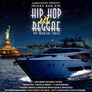 Manhattan Hip Hop vs. Reggae Summer Yacht Party at Skyport Marina Jewel in New York on Friday, August 9, 2019