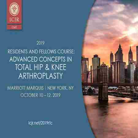 2019 ICJR Residents & Fellows Course in New York on 10 Oct