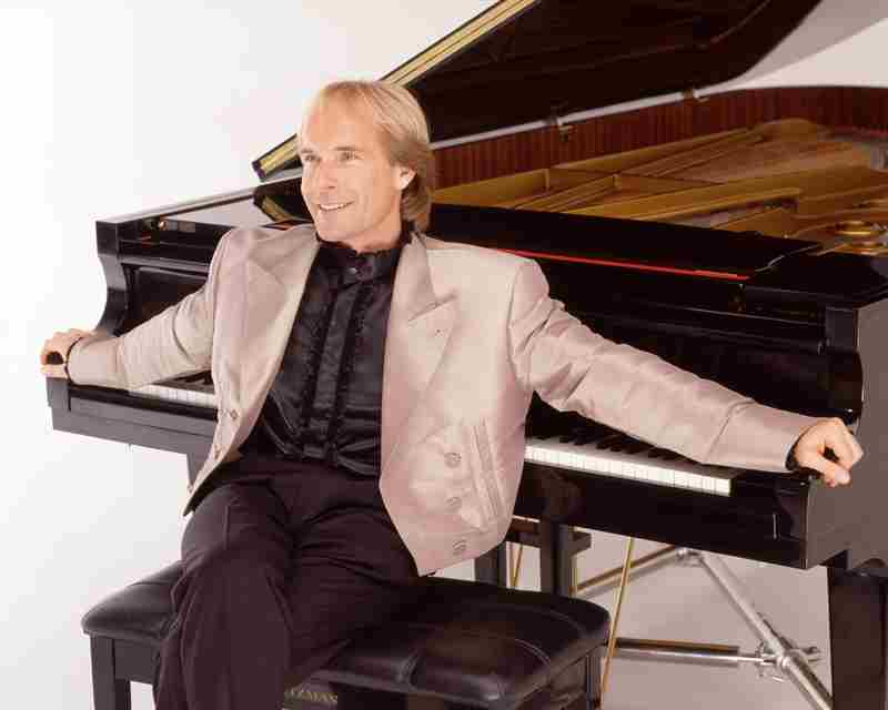Richard Clayderman Piano Concert in Vancouver on Friday, September 27, 2019