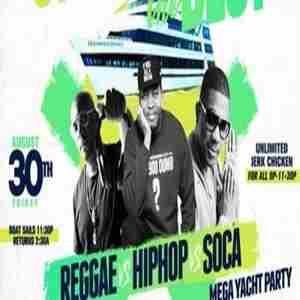 Strictly the Best Mega Yacht Party starring Majah Hype, DJ Self & DJ Norie in New York on 30 Aug