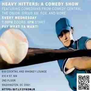 Heavy Hitters: A Comedy Show in Washington on 21 Aug