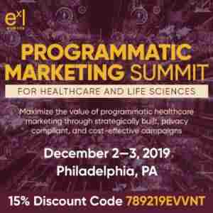 Programmatic Marketing Summit for Healthcare and Life Sciences in Philadelphia on 2 Dec