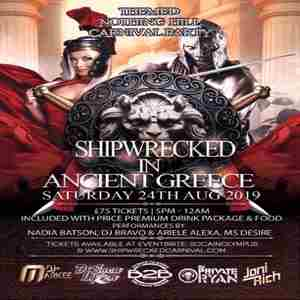 Shipwrecked Carnival All Inclusive Party - Soca, Dancehall, Afrobeats, RnB in London on Saturday, August 24, 2019