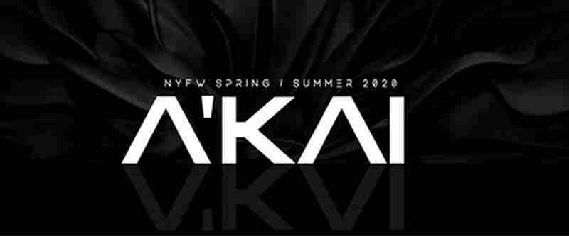 A'KAI S / S 2020 in New York on 7 Sep