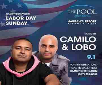 Labor Day Weekend at the Harrahs Pool Party 2019 in Atlantic City on 1 Sep