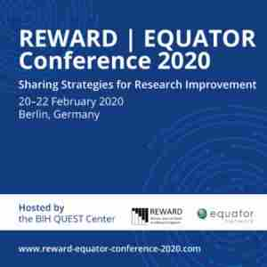 REWARD, EQUATOR Conference 2020 in Berlin on 20 Feb