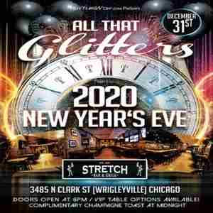 """All That Glitters"" New Year's Eve 2020 at Stretch Bar Wrigleyville Chicago in Chicago on 31 Dec"