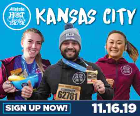 2019 Allstate Hot Chocolate 15k/5k Kansas City in Kansas City on 16 Nov