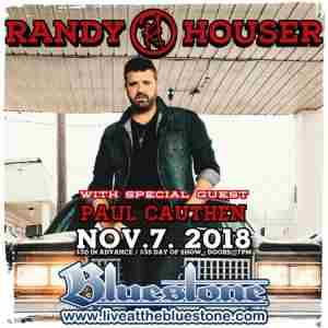 Randy Houser at The Bluestone in Columbus on 7 Nov