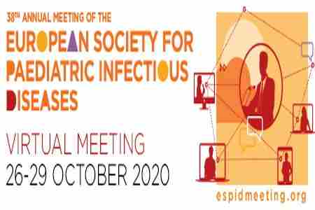 ESPID 2020: European Society for Paediatric Infectious Diseases in Rotterdam on 26 Oct