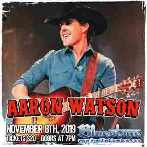 Aaron Watson LIVE November 8th in Columbus on 8 Nov