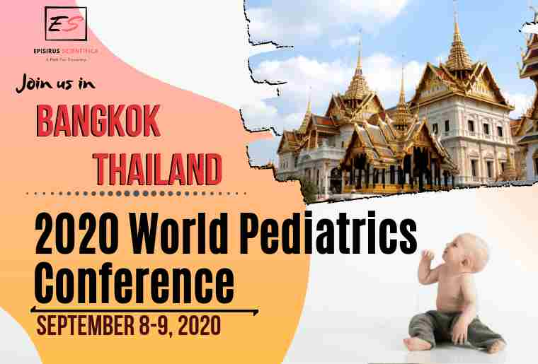 2020 World Pediatrics Conference in Bangkok on 8 Sep