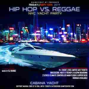 NYC End of Summer Midnight Yacht Party at Skyport Marina 2019 in New York on Friday, September 13, 2019