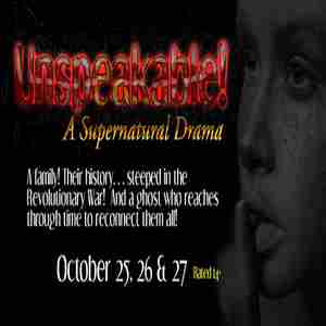 Unspeakable! in Quakertown on 27 Oct