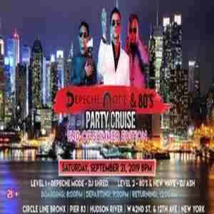Depeche Mode & 80's Party Cruise - End of Summer Edition in New York on 21 Sep