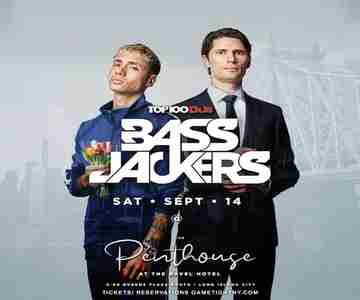 Bassjackers live at Ravel Penthouse 808 in Queens on Saturday, September 14, 2019