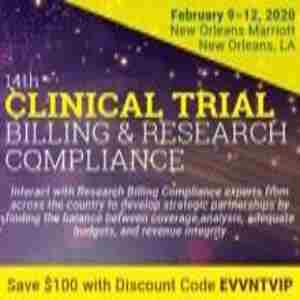 14th Clinical Trial Billing And Research Compliance in New Orleans on 9 Feb