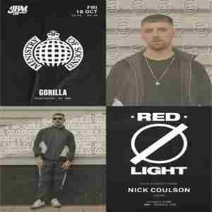 Ministry of Sound Presents: Redlight in Manchester on Friday, October 18, 2019