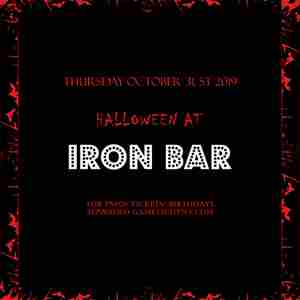 Iron Bar Halloween party 2019 only 15$ in New York on 31 Oct