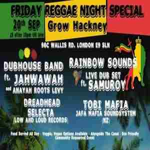 Reggae Jam Special in London on 20 Sep