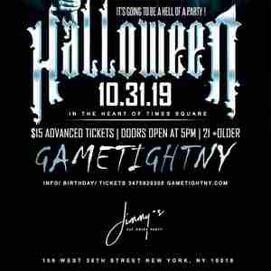 Jimmy's NYC Halloween party 2019 only $15 in New York on 31 Oct