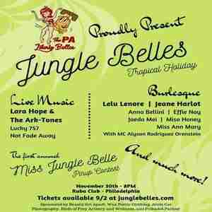Jungle Belles Tropical Holiday with Lara Hope & The Ark-Tones and more! in Philadelphia on 30 Nov