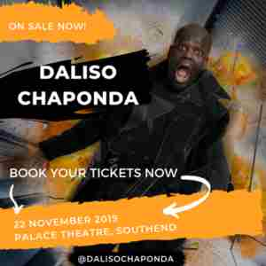Daliso Chaponda in Southend-on-Sea on 22 Nov