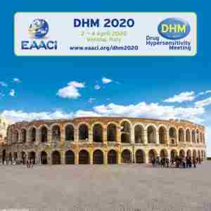 Drug Hypersensitivity Meeting (DHM 2020), Verona in Verona on 2 Apr