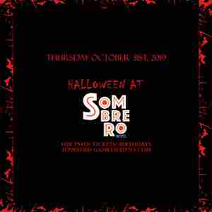 Sombrero NYC Halloween party 2019 in New York on 31 Oct