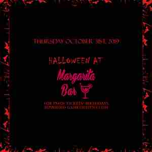 Margarita Bar NYC Halloween party 2019 in New York on 31 Oct