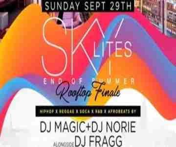 NYC Rooftop Summer Finale DayParty w/ Free Drinks in New York on 29 Sep