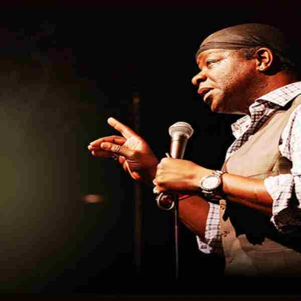 Stephen K Amos in Southend-on-Sea on 23 Nov