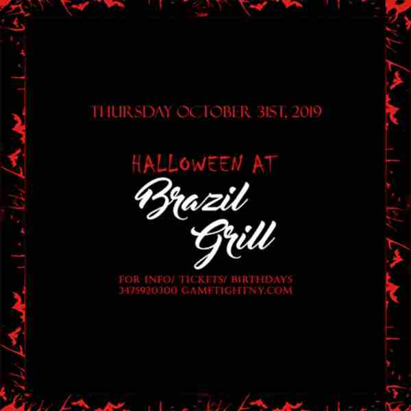 Brazil Grill NYC Halloween party 2019 only $15 in New York on 31 Oct