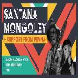 Santana Mongoley + PRVNA // Congolese + Neo Soul in London on 27 Sep