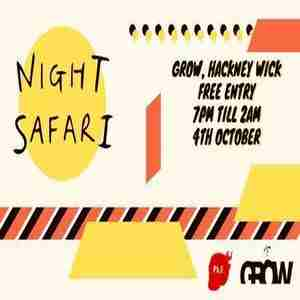 Night Safari III // World, House & Disco in London on 4 Oct
