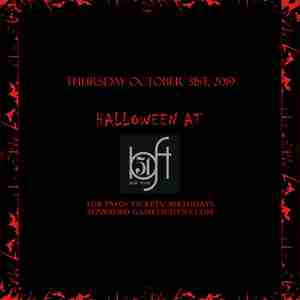 Loft 51 NYC Halloween party 2019 in New York on 31 Oct