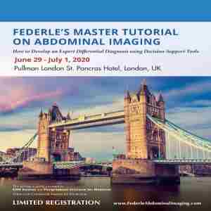 Federle's Master Tutorial on Abdominal Imaging in Greater London on 29 Jun