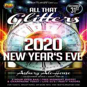 """All That Glitters"" New Year's Eve 2020 at Asbury Ale House (Asbury Park) in Asbury Park on 31 Dec"