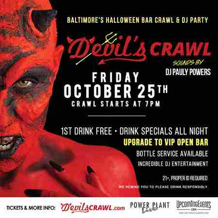 The Devil's Crawl - Baltimore in Baltimore on Friday, October 25, 2019