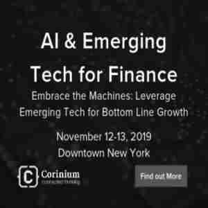 AI and Emerging Tech for Finance in New York on 12 Nov